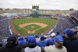 Apr 4, 2014, Chicago White Sox vs Kansas City Royals - Kauffman Stadium Photographic Print by John Williamson