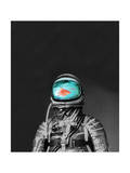 Underwater Astronaut Giclee Print by Budi Kwan