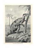 Iguanodon Bernissartensis Giclee Print by J. Smit