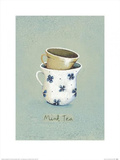 Mint Tea Print by Nicola Evans