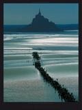 Mont Saint Michel Posters av Philip Plisson