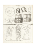 Ancient Armor Giclee Print by T. Milton