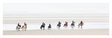 Promenade sur la Plage Affiche par Philip Plisson