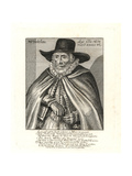Thomas Hobson, Carrier of Cambridge Giclee Print by J. Payne