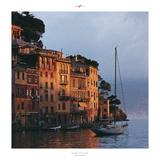 Portofino - Piccola mattina Poster von Philip Plisson
