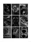 B&W Cameras Art by Ian Winstanley