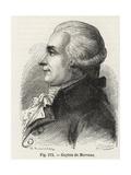 Louis-Bernard Guyton De Morveau Giclee Print by E. Thomas