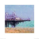 Brighton Pier Posters par Colin Ruffell
