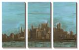 Manhattan Triptych Prints by Alicia Ludwig