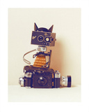 Robot Cat Prints by Ian Winstanley