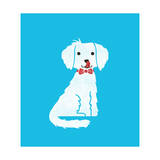 The Puppy Giclee Print by Budi Kwan