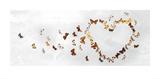 Butterfly Heart Plakater af Ian Winstanley