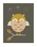 Little Owl Poster by  Little Design Haus