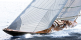 Voiles bordees Prints by Guillaume Plisson