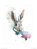 March Hare Posters by Sarah Stokes