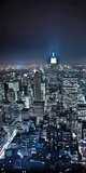 New-York by night Plakater af Philip Plisson
