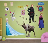 Disney's Frost - Rollekollektion Wallsticker Mode (wallstickers)