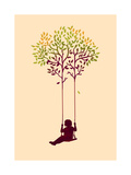 The Tree from Your Childhood Giclee Print by Budi Kwan