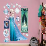 Disney's Frost - Snedronning Elsa Wallsticker Wallstickers