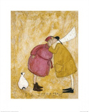 Big Smackeroo! Posters av Sam Toft