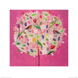 Happy Tree Poster by Andrea Letterie