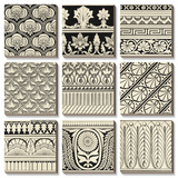 Ornamental Tile Motif Art by  Vision Studio