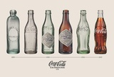 Coca-Cola - Bottle Evolution Prints