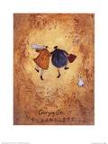Sam Toft - Carrying on Regardless - Art Print