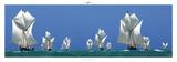 Armada Malgache Stampa di Philip Plisson