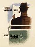 Stagger Working Hours Umělecké plakáty