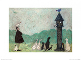 An Audience with Sweetheart Affiches par Sam Toft