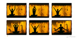 Position de Yoga Posters by Olivier Föllmi