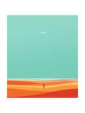 Where the Sea Meets Sky Giclee Print by Budi Kwan