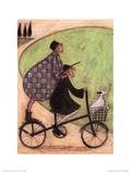 Double Decker Bike Poster par Sam Toft