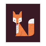 The Sly Fox Giclee Print by Budi Kwan