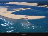 Banc d'Arguin et dune du Pilat - Bassin d'Arcachon Poster par Philip Plisson