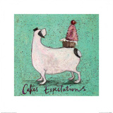 Cakes Expectations Art by Sam Toft