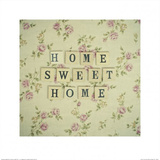 Home Sweet Home Art by Cassia Beck