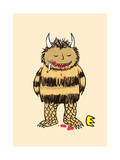 The Wild Thing Giclee Print by Budi Kwan