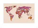 Our Wonderful World Kunstdrucke von Bianca Green