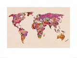 Our Wonderful World Prints by Bianca Green