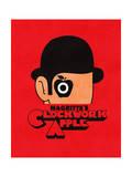 Magritte's Clockwork Apple Giclée-Druck von Budi Kwan