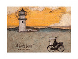 A Lovely Light, Nantucket Poster by Sam Toft