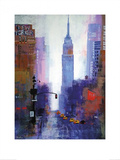 Manhattan Empire State Prints by Colin Ruffell