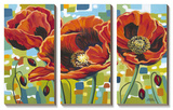 Vivid Poppies III Prints by Caroline Vitaletti
