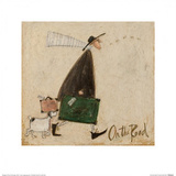 On The Road Print by Sam Toft