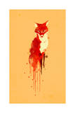 The Fox the Forest Spirit Reproduction procédé giclée par Budi Kwan