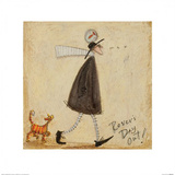 Rover's Day Out Poster by Sam Toft