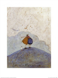 Love on a Mountain Top Posters by Sam Toft