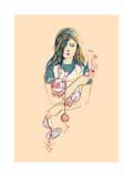Alice in Wonderland Giclee Print by Budi Kwan